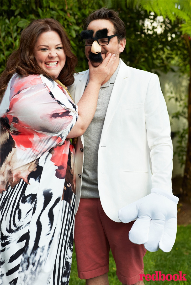 melissa mccarthy photo shoot 2014 1 Melissa McCarthy Poses for Redbook, Reveals Why She Started Plus Size Clothing Line
