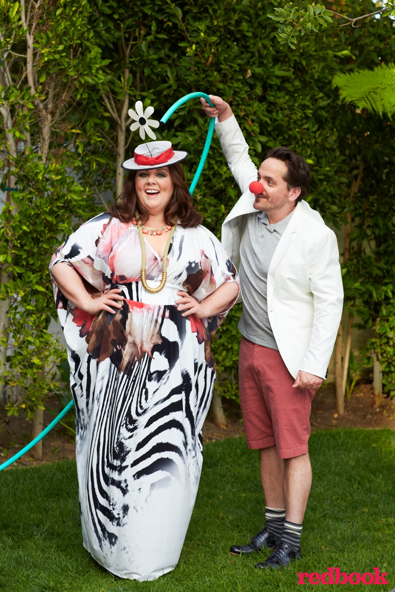 melissa mccarthy photo shoot 2014 2 Melissa McCarthy Poses for Redbook, Reveals Why She Started Plus Size Clothing Line