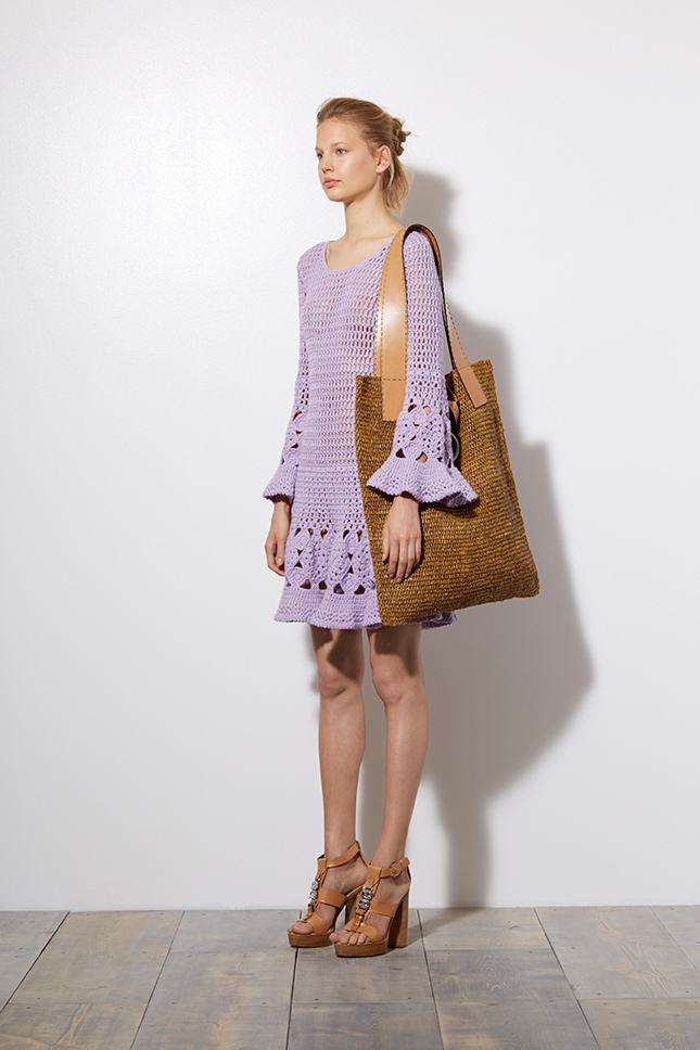 Bardot Meets Birkin for Michael Kors' Resort 2015 Collection
