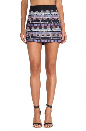 Daily Find: The Perfect Graphic Mini Skirt from Milly