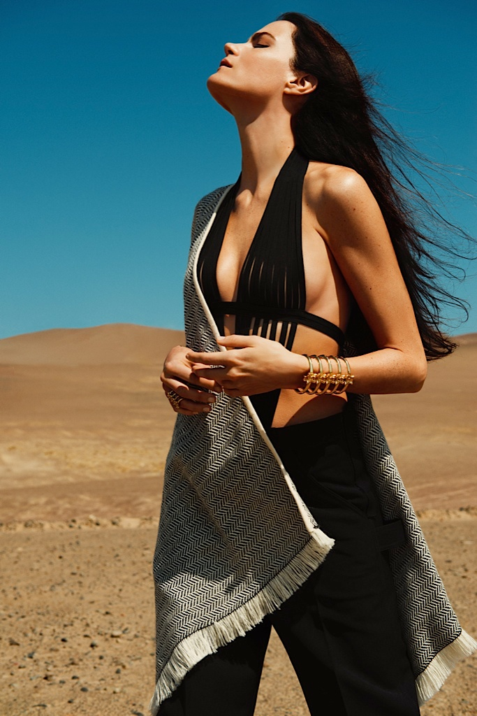 missy rayder model 2014 1 Missy Rayder is Nomad Chic for Bazaar Russia by Alexander Neumann