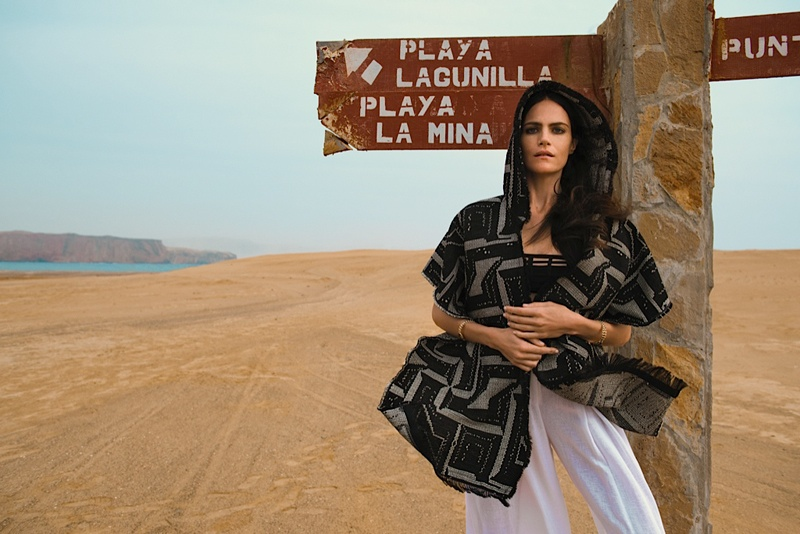 missy rayder model 2014 7 Missy Rayder is Nomad Chic for Bazaar Russia by Alexander Neumann