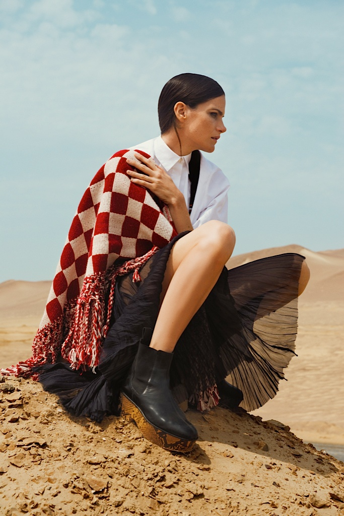 missy rayder model 2014 9 Missy Rayder is Nomad Chic for Bazaar Russia by Alexander Neumann