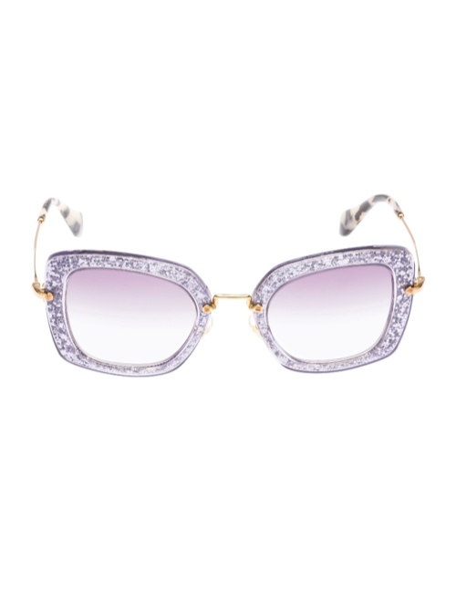 miu miu glitter sunglasses3 Miu Miu Brings the Glam with its Glitter Sunglasses Collection