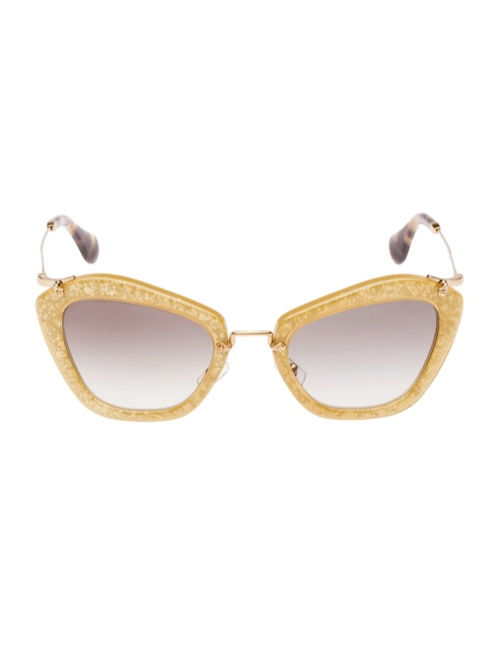 miu miu glitter sunglasses4 Miu Miu Brings the Glam with its Glitter Sunglasses Collection