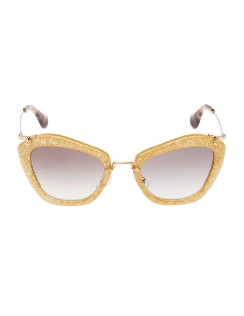 miu miu glitter sunglasses4 Miu Miu Brings the Glam with its Glitter Sunglasses Collection