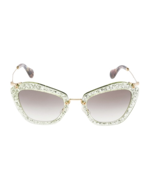 miu miu glitter sunglasses5 Miu Miu Brings the Glam with its Glitter Sunglasses Collection