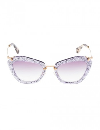 Miu Miu Brings the Glam with its Glitter Sunglasses Collection
