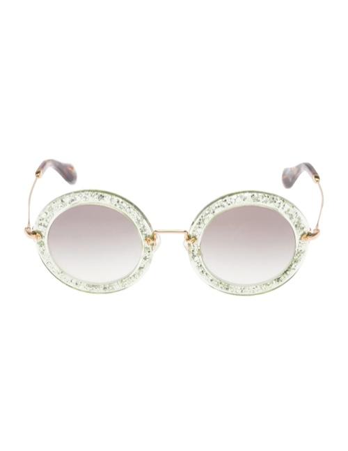 miu miu glitter sunglasses7 Miu Miu Brings the Glam with its Glitter Sunglasses Collection