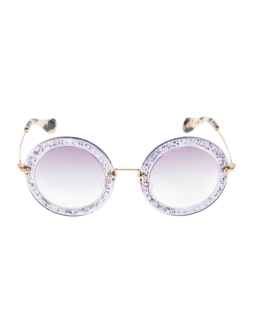 miu miu glitter sunglasses8 Miu Miu Brings the Glam with its Glitter Sunglasses Collection