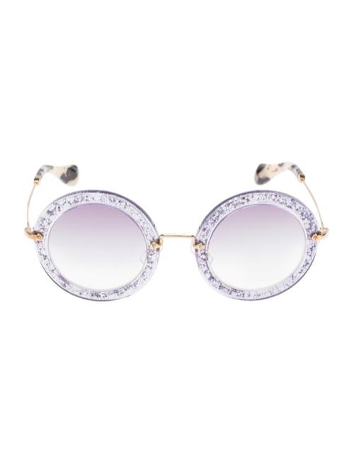 miu miu glitter sunglasses8 Miu Miu Brings the Glam with its Glitter Sunglasses Collection