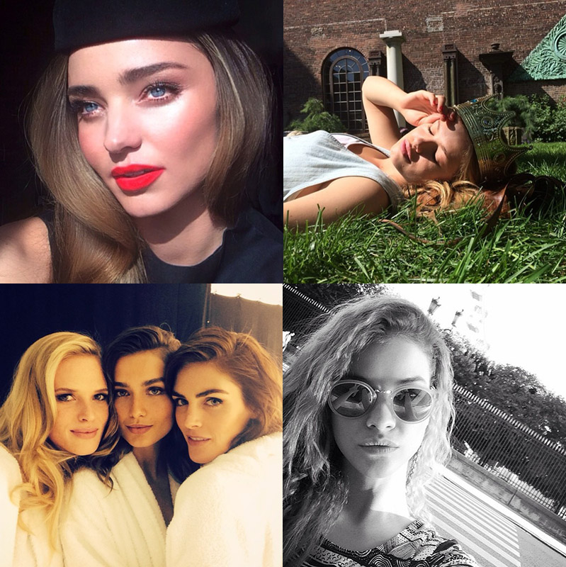 model instagrams june end Instagram Photos of the Week | Barbara Palvin, Miranda Kerr + More Models
