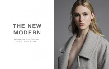 "FGR Exclusive | Laura Kargulewicz by Christos Karantzolas in ""The New Modern"""