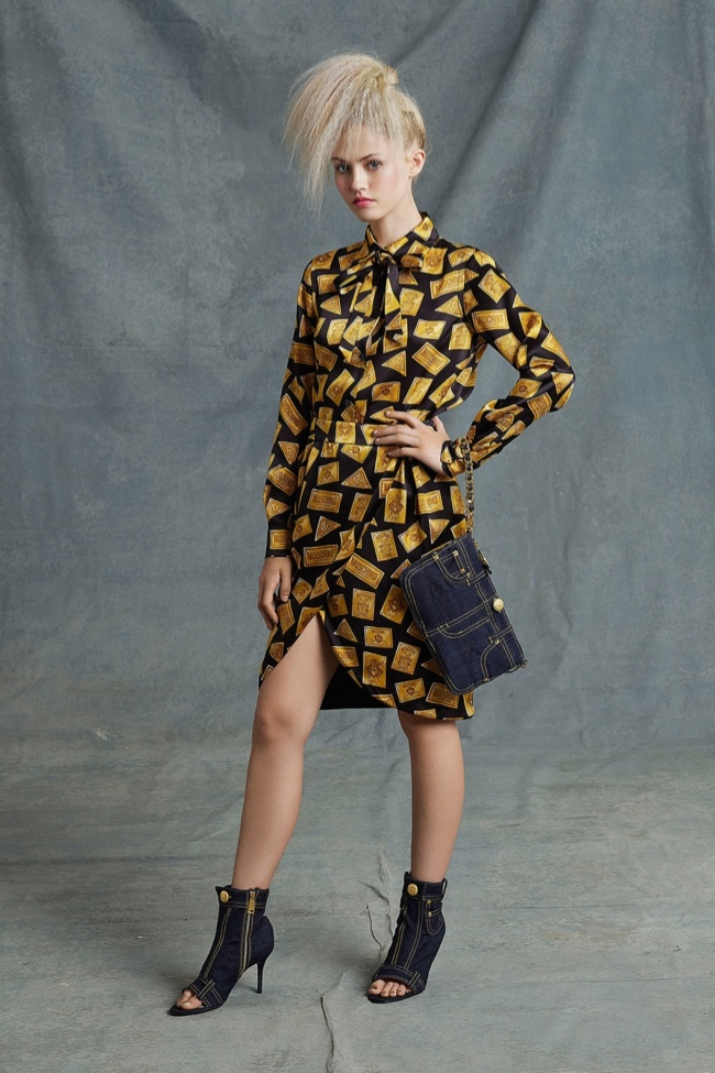 Photo: Moschino resort 2015 collection designed by Jeremy Scott