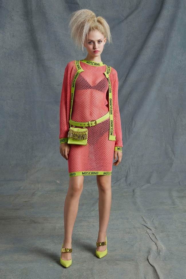 moschino resort 2015 photos8 More Kitsch for Moschino's Resort 2015 Collection