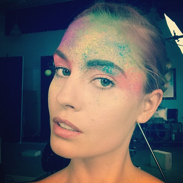 nadja colors face Instagram Photos of the Week | Freja Beha Erichsen, Behati Prinsloo + More Models