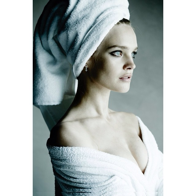 natalia towel series Instagram Photos of the Week | Barbara Palvin, Miranda Kerr + More Models