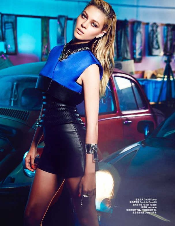 "nicola peltz photo shoot7 ""Transformers"" Star Nicola Peltz in Bazaar China by Max Abadian"
