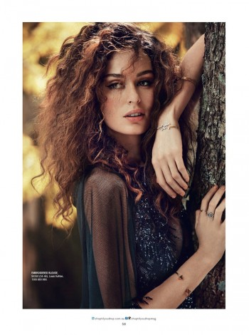 Nicole Trunfio Models Seductive Style for SHOP Australia