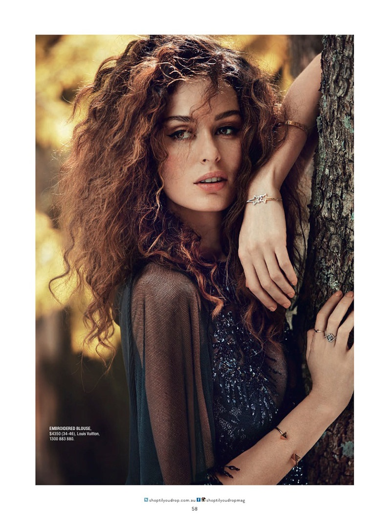 nicole trunfio model 2014 6 Nicole Trunfio Models Seductive Style for SHOP Australia
