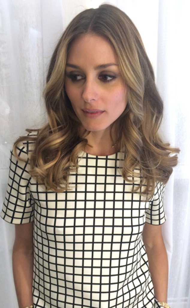 olivia palermo blonde highlights hair Olivia Palermo Gets Blonde Highlights Pre Wedding