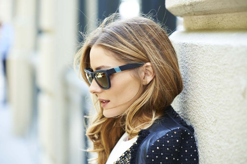 olivia palmero westward leaning glasses1 Olivia Palermo Links Up with Westward Leaning for Eyewear Collaboration