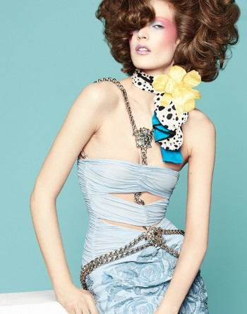 New Retro: Othilia Simon by Manolo Campion for Flair Germany