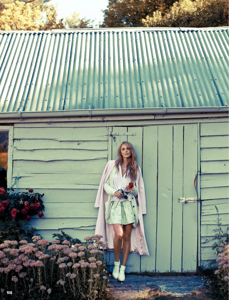 pastel fashion cosmo3 Ashley Osborne Wears Perfect Pastels for Cosmopolitan Australia