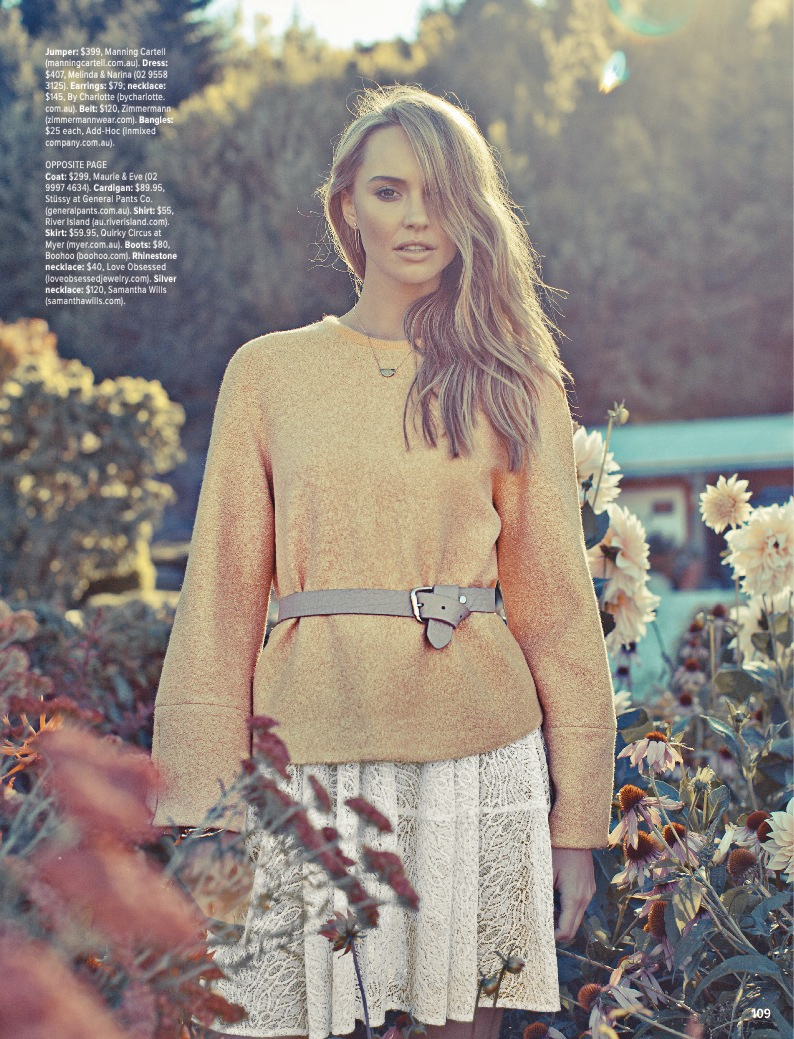 pastel fashion cosmo4 Ashley Osborne Wears Perfect Pastels for Cosmopolitan Australia