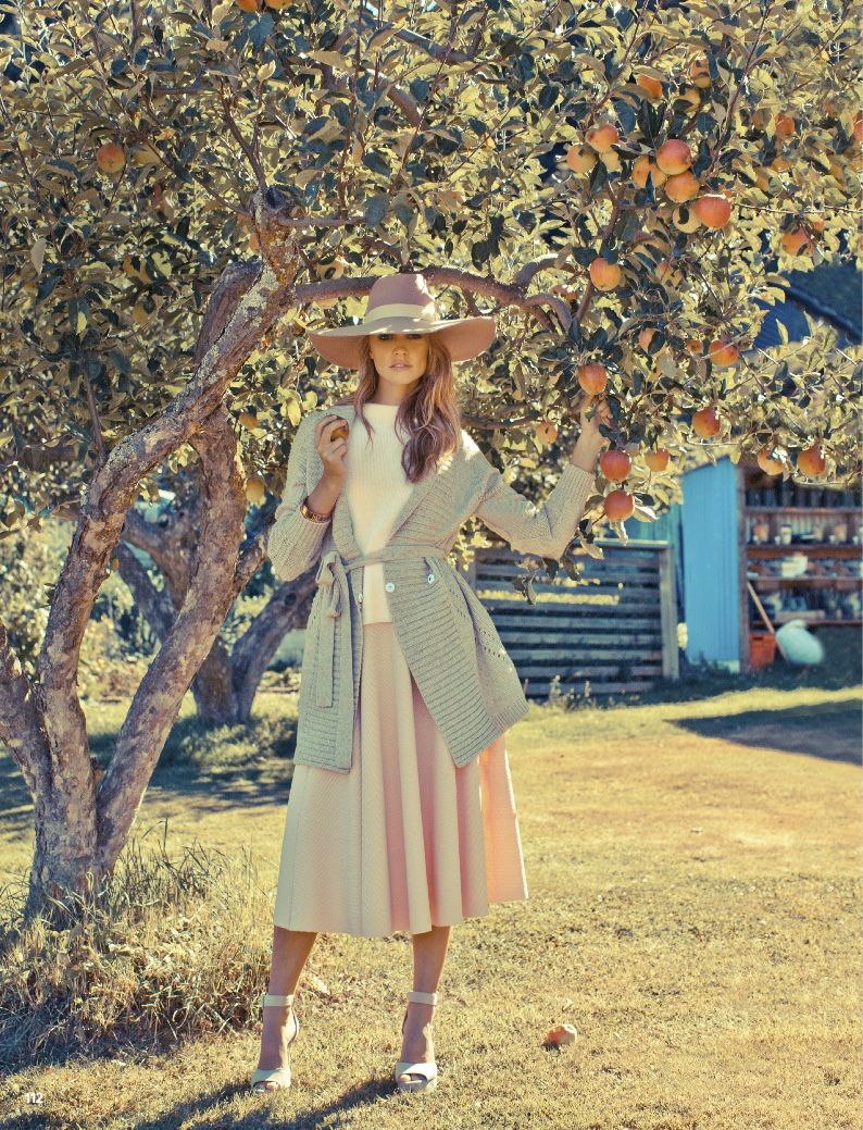 pastel fashion cosmo7 Ashley Osborne Wears Perfect Pastels for Cosmopolitan Australia