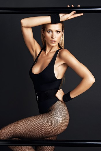 Petra Nemcova Gets Physical in GQ Portugal Shoot by Branislav Simoncik