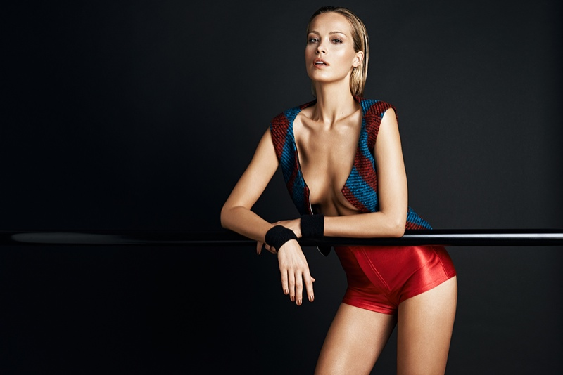 petra nemcova hot photos5 Petra Nemcova Gets Physical in GQ Portugal Shoot by Branislav Simoncik