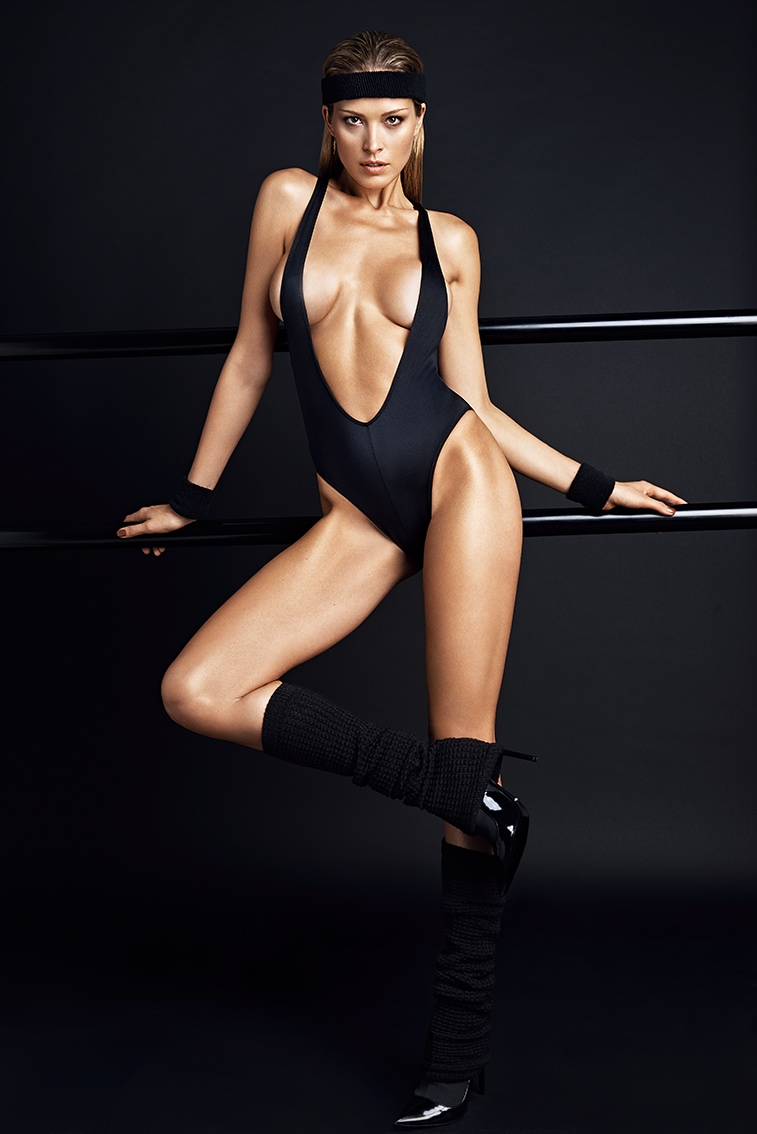 petra nemcova hot photos6 Petra Nemcova Gets Physical in GQ Portugal Shoot by Branislav Simoncik