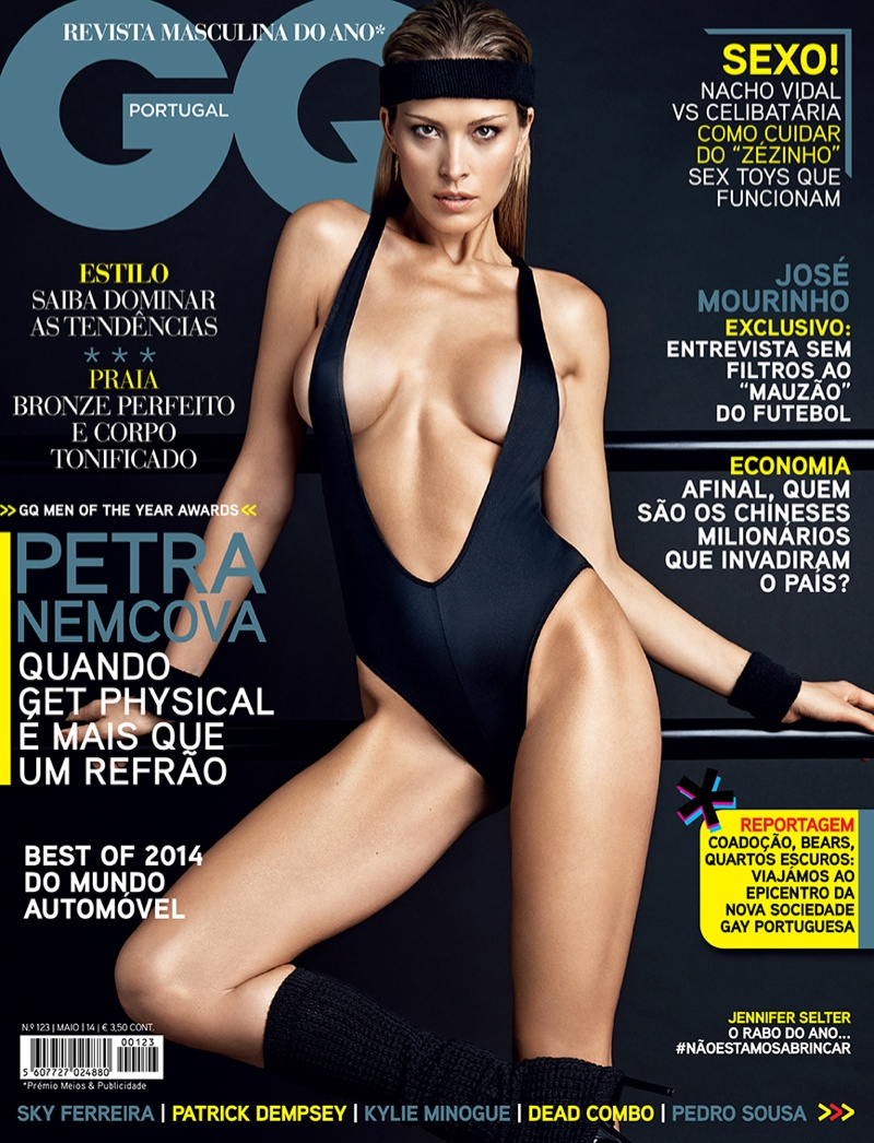 petra nemcova hot photos9 Petra Nemcova Gets Physical in GQ Portugal Shoot by Branislav Simoncik