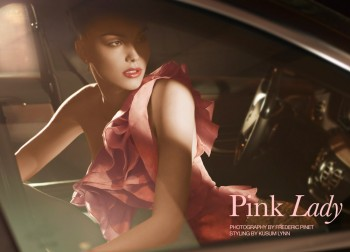 "FGR Exclusive | Julija Step by Frederic Pinet in ""Pink Lady"""