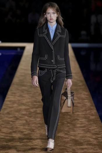 Prada Takes on Denim, Menswear Style for Resort 2015