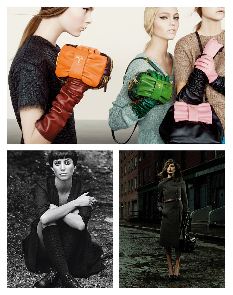 prada campaign retrospective Pradasphere: Explore the Brand's Campaigns from 1987 to Today