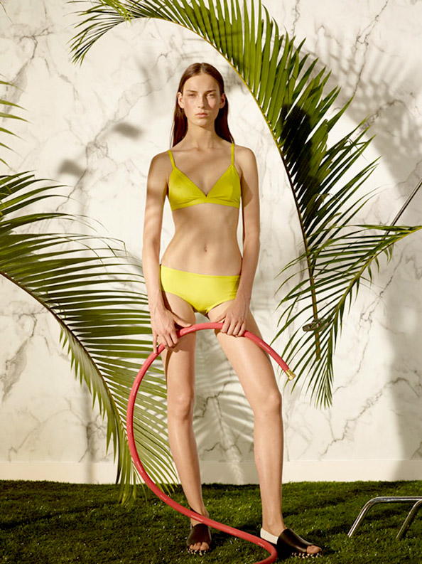 Proenza Schouler Makes a Splash with their First Ever Swimwear Collection