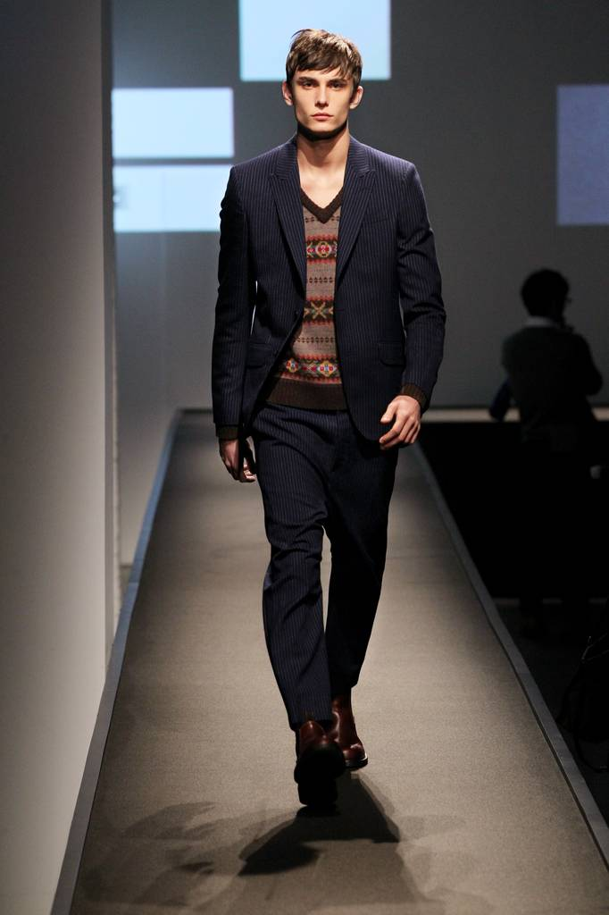 Rag & Bone Skipping Mens Runway Show for Spring Collection