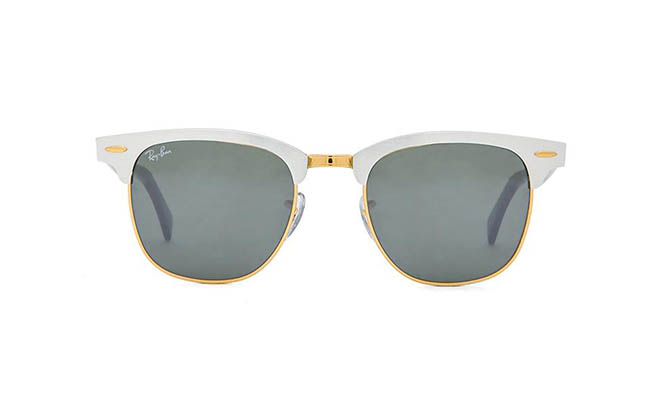 "Ray-Ban ""Clubmaster"" Sunglasses available at Revolve Clothing for $215.00"