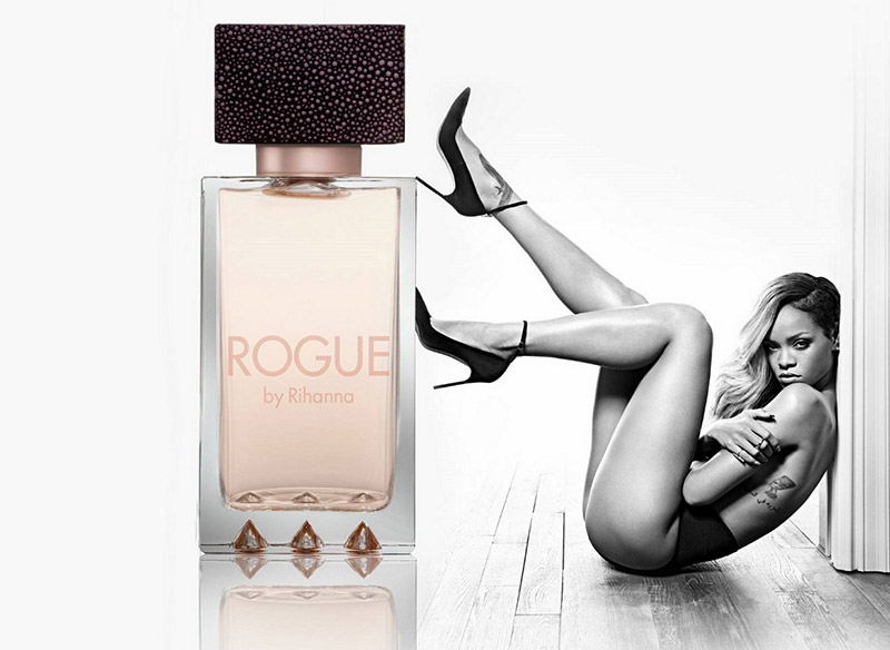rihanna rogue fragrance ad campaign banned Rihanna Rogue Fragrance Ad Censored for Sexually Suggestive Image