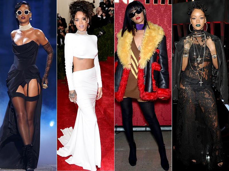 7 Memorable Rihanna Style Moments