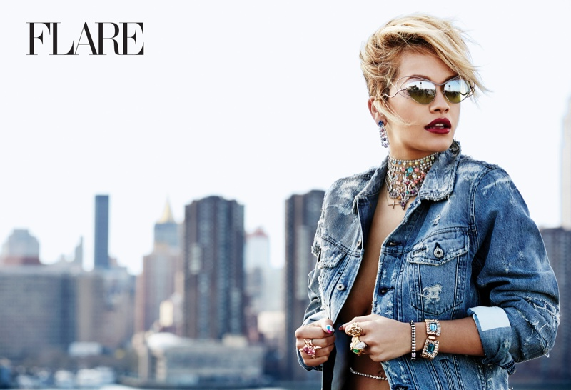 Rita Ora Stars in Flare, Reveals Instagram Is 'Like a Drug' to Her