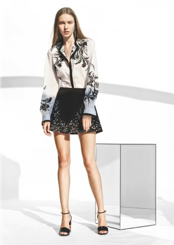Roberto Cavalli Inspired by Veruschka, Florence for Resort 2015 Collection