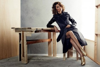 Rose Byrne Stuns in New Styles for Max Mara Shoot