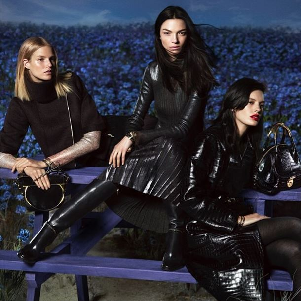 First Look | Mariacarla Boscono, Suvi Koponen & Amanda Murphy for Salvatore Ferragamo Fall 2014 Ads