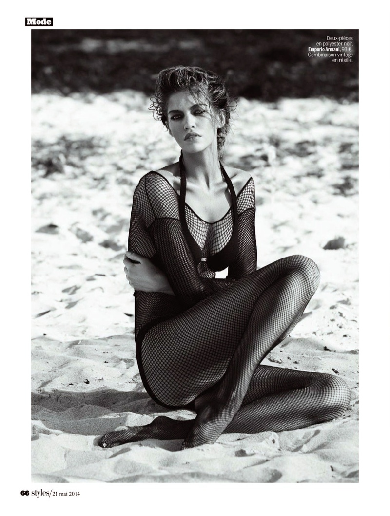 samantha gradoville swimwuit shoot3 Samantha Gradoville Has a Sizzling Summer in LExpress Styles Spread