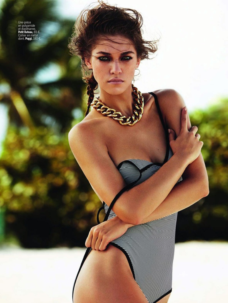 samantha gradoville swimwuit shoot4 Samantha Gradoville Has a Sizzling Summer in LExpress Styles Spread
