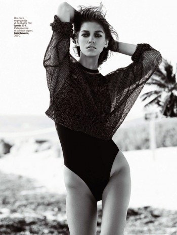 Samantha Gradoville Has a Sizzling Summer in L'Express Styles Spread