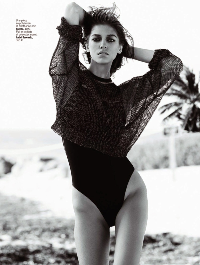 samantha gradoville swimwuit shoot6 Samantha Gradoville Has a Sizzling Summer in LExpress Styles Spread